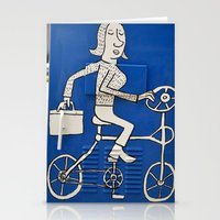 Blue Bike Day Stationery Cards