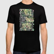 SPRING CYCLE Mens Fitted Tee Black SMALL