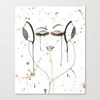 Out Of It Canvas Print