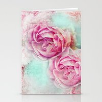 RED ROSES FOR THE LADY Stationery Cards