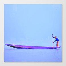 Sailor in Burma Canvas Print
