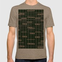 MUSIK Mens Fitted Tee Tri-Coffee SMALL