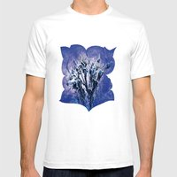 Thistle And Weeds_deep P… Mens Fitted Tee White SMALL