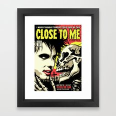 TFTS | Close Framed Art Print