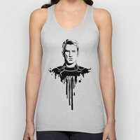 Avengers in Ink: Captain America Unisex Tank Top