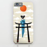 iPhone & iPod Case featuring Torii by Freeminds