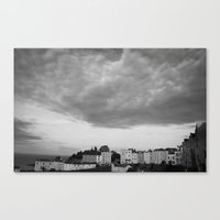 And The Sky Screamed. Canvas Print