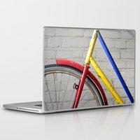 bike Laptop & iPad Skins featuring Bike by Marieken