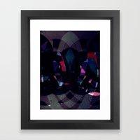 Disquiet Four Framed Art Print