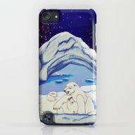 Peaceful Polar Bears iPod touch Slim Case