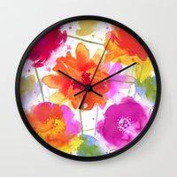 vive l'été! Wall Clock