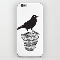 poe-try 2 iPhone & iPod Skin