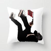 Awwwwwwwww Crap! Throw Pillow