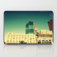 Chicago Retro Skyline ~ architecture iPad Case