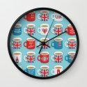 A Very British Brew Wall Clock