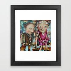 Rendez-Vous Framed Art Print