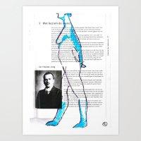 Carl Gustav Jung – Nud… Art Print