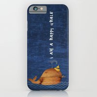 i am a happy whale iPhone 6 Slim Case