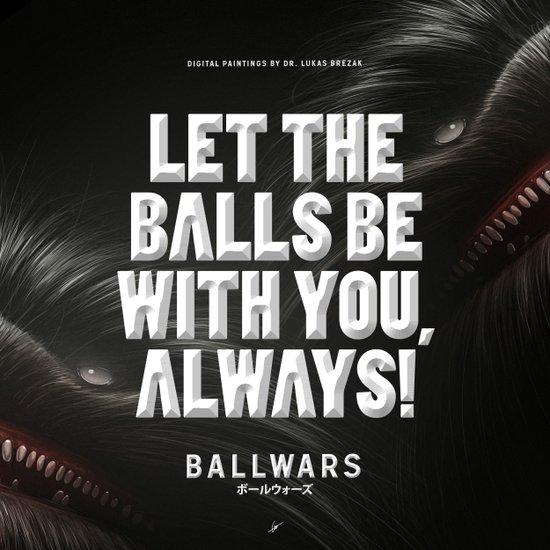 BallWars: Poster Art Print