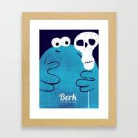 Berk - The Trap Door  Framed Art Print