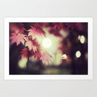 Autumn's Dream Art Print