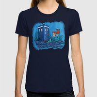 Part Of Every World Womens Fitted Tee Navy SMALL