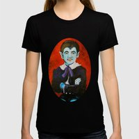 The Munsters Eddie Munst… Womens Fitted Tee Black SMALL