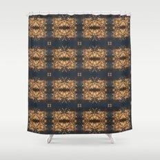 Firework Textile Shower Curtain