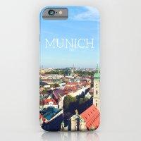 Munich Skyline iPhone 6 Slim Case