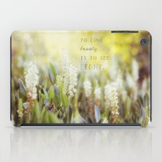 See the Light iPad Case