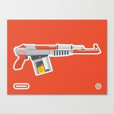N-16 Sub Automatic Assault Light Gun Canvas Print