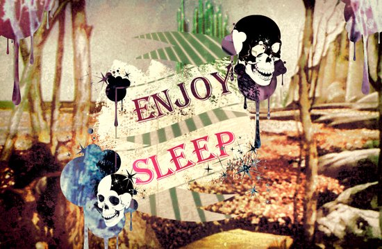 Enjoy Sleep! Art Print
