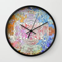 Sunset In Fairy Tale For… Wall Clock