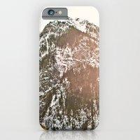 Snowy Mountain Peak in the Sun iPhone 6 Slim Case