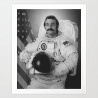 Bill Murray Is An Astron… Art Print