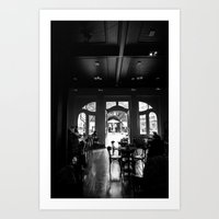 Coffebreak Art Print