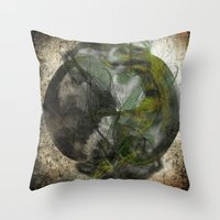 Quizzical  Throw Pillow