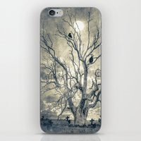 Raven's Shelter II  (col… iPhone & iPod Skin