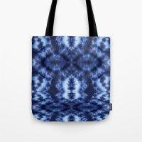 Topanga Tie-Dye Blue Tote Bag
