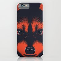 iPhone & iPod Case featuring raccoon by CranioDsgn