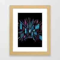 Tunnel To The Stars Framed Art Print