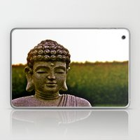 A Peaceful Mind, Makes a Happy Heart Laptop & iPad Skin