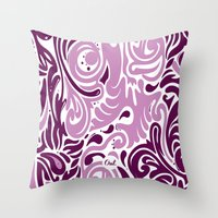 out confusion Throw Pillow