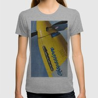 P51 Obsession Womens Fitted Tee Athletic Grey SMALL