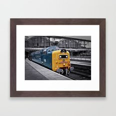 Kings Cross Blue Framed Art Print