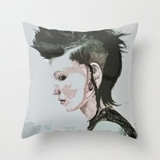 The Girl with the Dragon Tattoo Throw Pillow