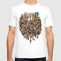 Super Breaking Bad Mens Fitted Tee White SMALL