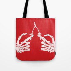 Wishbones Tote Bag