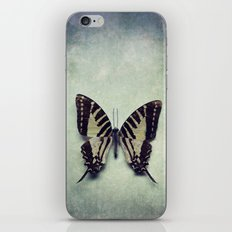 Vintage Butterfly 5 iPhone & iPod Skin
