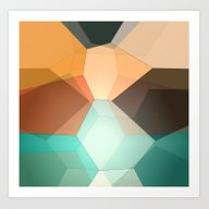 Edie Dimensions Art Print